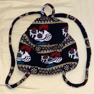 Vintage Portugal Rooster Bag